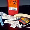 John P. Cleary |  The Herald Bulletin<br /> This is a syringe exchange program kit from the Madison County Health Department.