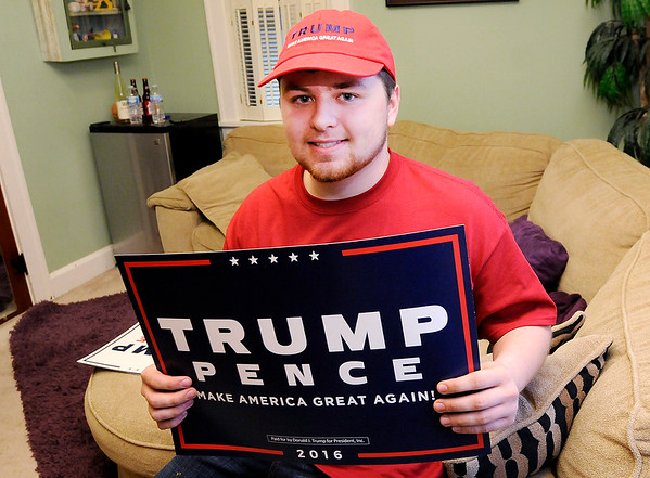 Don Knight | The Herald Bulletin<br /> Pendleton Heights student Griffin McCarty is going to Washington D.C. with his father Kent for Trump's inauguration.