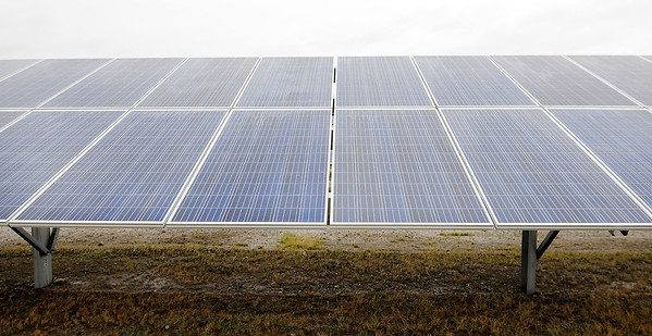 Don Knight | The Herald Bulletin<br /> Indiana Municipal Power Agency is developing a solar park in Anderson, the park will be the third to go online in Madison County.