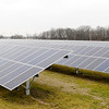 Don Knight | The Herald Bulletin<br /> The Indiana Municipal Power Agency solar park on Park Road went live on Monday. IMPA has plans for a second park on Madison Avenue north of Cross Street.