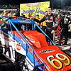 John P. Cleary | for The Herald Bulletin   FILE PHOTO<br /> 2016 Pay Less Little 500 sprint car race winner Kody Swanson and the winning Hoffman Auto Racing No. 69 sprint car.
