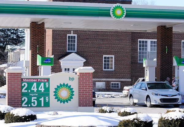 Don Knight |  The Herald Bulletin<br /> Regular unleaded was selling for $2.51 at the Ricker's on 8th Street on Saturday.