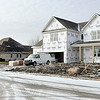 John P. Cleary | The Herald Bulletin<br /> New houses going up in the Apple Downs addition.