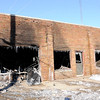 Don Knight |  The Herald Bulletin<br /> AFD fought several fires on New Year's Eve including one at the Mercy Center.