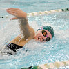 Don Knight |  The Herald Bulletin<br /> Pendleton Heights' McKenna Jule swims for the Arabians in the 400 relay in their meet against Richmond in this file photo from November.