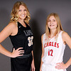 Don Knight | The Herald Bulletin<br /> Sydney Tucker and Bree Boles met in fourth grade when they played together for Bree's father Michael.