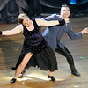 Don Knight |  The Herald Bulletin<br /> Erin Jennings and Xavier Medina perform their dance in the style of Jive/Samba during Dancing Like the Stars at the Paramount on Saturday.