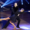 Don Knight |  The Herald Bulletin<br /> Rob Jenkins holds Jennifer Bailey as they perform their dance in the style of Bolero during Dancing Like the Stars at the Paramount on Saturday.