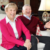 John P. Cleary |  The Herald Bulletin<br /> Marilyn and Jim Ault,  THB's Person of the Year, enjoy a laugh together.