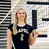 John P. Cleary | The Herald Bulletin<br /> Isabel Anderson of Lapel High School is the Volleyball Player of the Year.