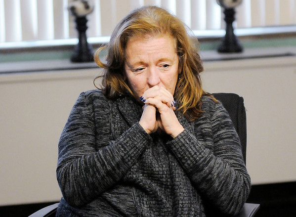 Don Knight | The Herald Bulletin<br /> APA health and P.E. teacher Deb Dietrich has to pause for a moment while talking about students Javon Blackwell Jr. and Jayzon Blackwell. The two boys and their father were found dead in Marion on December 30th.