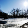 Don Knight | The Herald Bulletin<br /> Frost falls<br /> <br /> Ice forms around the falls at Falls Park as Madison County was plunged into sub-zero temperatures on Wednesday.