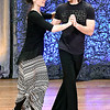 John P. Cleary | The Herald Bulletin<br /> Austin Ashby and Natasha Cox rehearsing at the Paramount Theatre for Dancing Like the Stars.