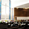 Don Knight | The Herald Bulletin<br /> The funeral for Johnny Wilson was held at the First United Methodist Church in Anderson on Saturday.