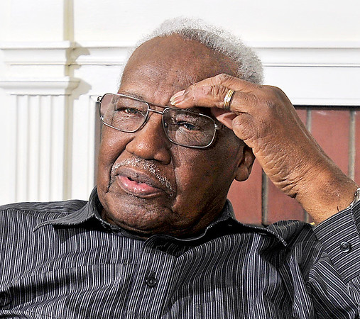 John P. Cleary | The Herald Bulletin<br /> Shots of James Warner in his home. He is a finalist for THB's Person of the Year.