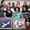 John P. Cleary | The Herald Bulletin<br /> Joyce Griffin, seated third from left, mother of homicide victim Tommie Griffin, is surrounded by daughters, Marjean Neal, left of her, and Cherie Griffin, right, along with extended family members as they mourn the death of Tommie Griffin.