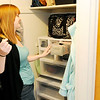 Don Knight | The Herald Bulletin<br /> Bethany Clayton started folding her clothes after reading Marie Kondo's book on decluttering.