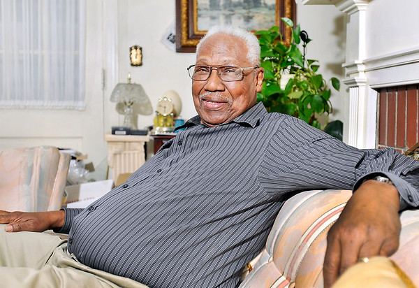 John P. Cleary   The Herald Bulletin<br /> Shots of James Warner in his home. He is a finalist for THB's Person of the Year.