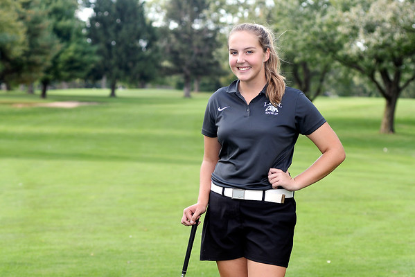 John P. Cleary   The Herald Bulletin<br /> Kristen Hobbs, of Lapel HS, is THB's Girls Golf Player of the Year.