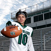 Don Knight | The Herald Bulletin<br /> Offensive football player of the year Eli Pancol
