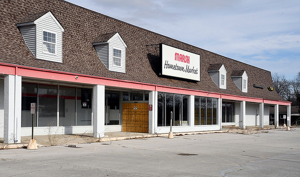 The former Marsh store on Nichol Avenue the city of Anderson has obtained.