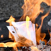 Students at COMPASS ring in the new year with a burning ceremony where their personal letters about their feelings and emotions were burnt to help release those feelings and start the new year moving forward in positivity.