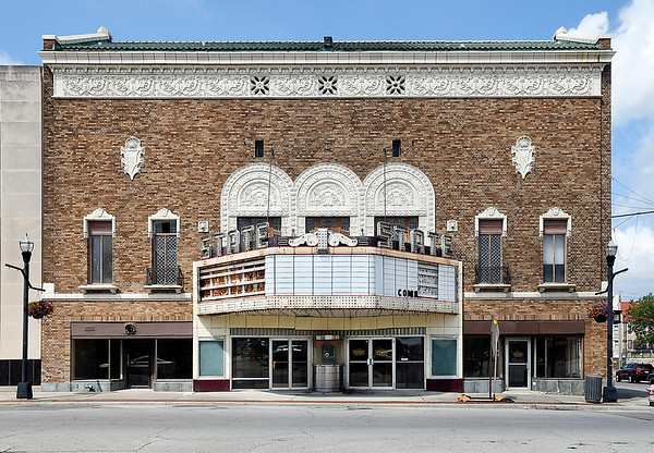 Exterior of the State Theatre that the city now owns.