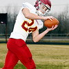 Cade Vernetti of Alexandria HS, THB's football defense AOY.