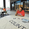 Friday was the last day for county employees that work at the Madison County Government Center to enjoy their outdoor designated smoking area.  With the new state-wide smoking ban taking effect July 1 there will be no smoking on the property.