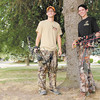 From left, Austin Janes and Joshua Hagerman produce an online hunting show called The Fever.