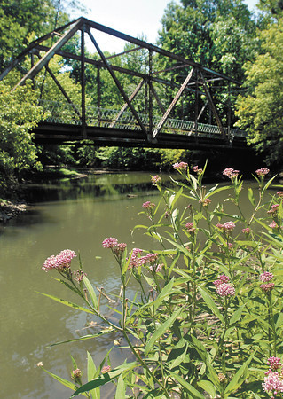 Madison County bridge No. 97, the old iron bridge over Killbuck Creek on CR 450N, between CR 300E & 375, is being offered by the county to interested parties.  The bridge has been closed since 2000.