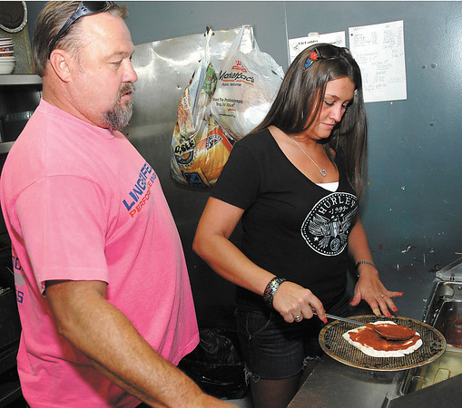Mike Craven and Nichole Helgesen have bought Monty's Lounge in Chesterfield.
