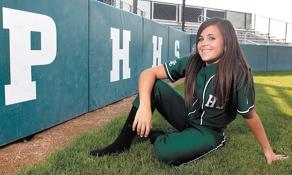 Softball Pitcher of Year Brooke Wendling from PHHS.