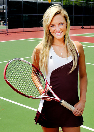 Alexandria's Michelle McFerran is The Herald Bulletin's Tennis Player of the Year.