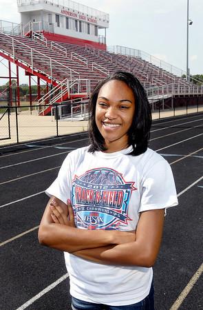 Kalyn Davis, Girls Track Player of the Year.
