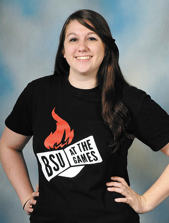 Kait Burk, BSU student from Anderson, going to Olympics.
