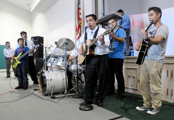 Anderson's Church of God of the Israelites hosted a national youth convention at New Horizons United Methodist Church that closed out Wednesday with a song.