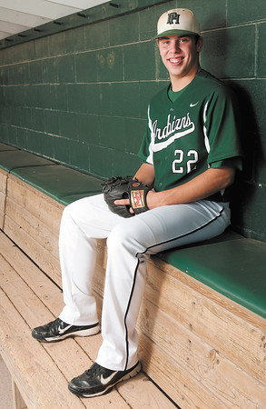 Pitcher of the Year, Pendleton Heights' Mitch Patishall.