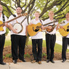 The Mountain Laurel Band, from left, Frank Utt, Adam Lambert, Caleb Garett, Danny Slaven and Eddie Slaven, will be playing the Shadyside Bluegrass Festival.