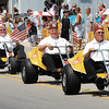 Anderson's Murat Shrine Club Desert Patrol rides down the parade route during the Chesterfield Independence Day Parade on Wednesday.