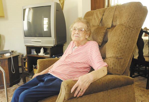 Lena Wyatt of Lapel will be celebrating her 100th birthday on July 4th.