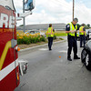 Anderson Fire Department engine 8 was involved in a personal injury accident at the intersection of 53rd Street and Main Street while making a emergency run Thursday afternoon.