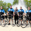Don Knight/The Herald Bulletin<br /> Increased bike patrols is one way the Elwood Police Department intends to increase their community policing efforts.
