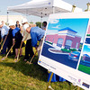 Old National Bank, along with city officials, broke ground Wednesday on a new branch office at 2312 Charles Street.  The new facility will replace the 53rd Street banking center the company has outgrown.