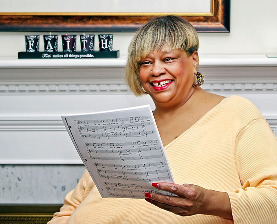 """Reverend Sharon White will be the featured soloist in the """"Music From Broadway to Gospel"""" concert to be held at New Horizons United Methodist Church on July 14, 2013."""