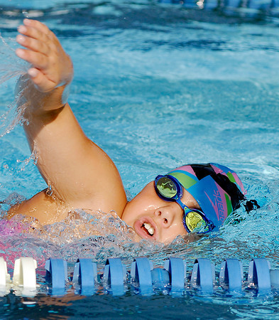 ACAC swimmer Allie Bramwell, 10, will compete in several freestyle swimming events at the Indiana Age Group State Championships.