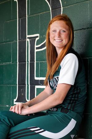 Don Knight/The Herald Bulletin<br /> All Herald Bulletin Softball player of the year, Pendleton Heights Sarah Dixon.