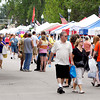 Large crowds came out for the Lapel Village Fair last year to enjoy the festivities.