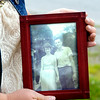 John P. Cleary | The Herald Bulletin<br /> Leann McKissack holds the only photograph she has of her parents Eugene and Janet Shaw together who were killed in a vehicle accident there 50 years ago.