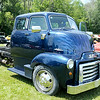 Don Knight | The Herald Bulletin<br /> This 1948 GMC Cabover was on display during Goodstock at Good's Candy Shop on Saturday. To view or buy this photo and other Herald Bulletin photos, visit photos.heraldbulletin.com.